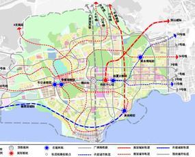 5大枢纽,福田交通规划曝光!最新轨道布局图来了