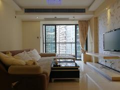 宝能太古城花园北区 深圳湾豪宅片区实用3室2厅116.51m²整租租房效果图