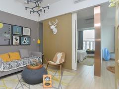 宏发嘉域 2室1厅66.84m²整租租房效果图