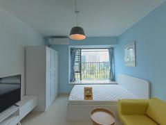 鸿翔花园 1室1厅0厨1卫 34.53m² 精致装修二手房效果图