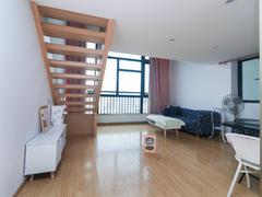 峰荟 2室1厅1厨1卫 54.63m² 整租租房效果图