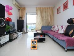 中海康城国际 3室2厅1厨1卫71.84m²整租租房效果图