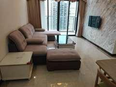 颐安都会中央2期  家私电全齐 3室2厅88.04m²整租 租房效果图