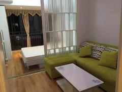 宏发上域 1室1厅34.59m²整租租房效果图