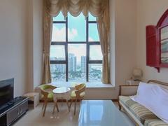 华发世纪城三期 1室2厅52.31m²整租租房效果图