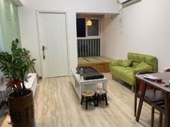 现代城华庭 1室2厅53.4m²整租租房效果图