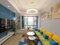 可园七期 3室2厅83m²精装修二手房效果图