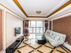李沧万达广场公馆 2室2厅1厨1卫 100.35m² 精致装修二手房效果图