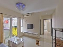国际名园 1室1厅43m²精装修二手房效果图