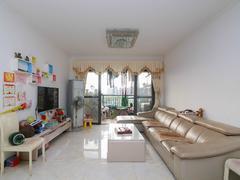 越秀可逸江畔 3室2厅1厨1卫 91.8m² 精致装修二手房效果图