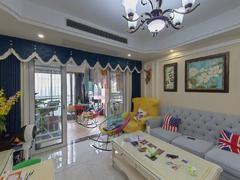 凤山水岸花园 3室2厅119m²精装修二手房效果图