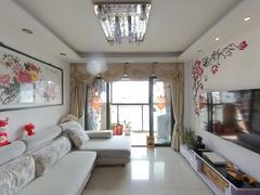 东方明珠城 2室2厅72m²精装修,毗邻万科里,三馆一城二手房效果图