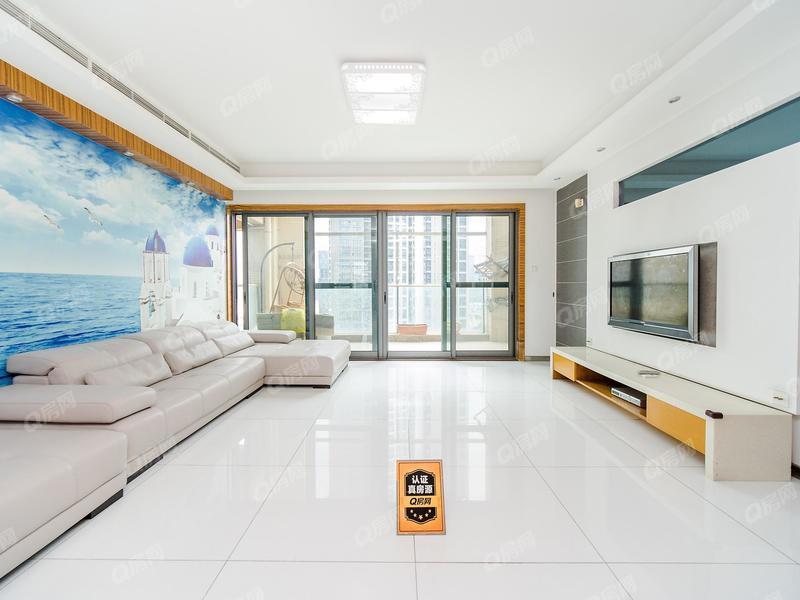 卓越浅水湾 高层大平层,南北双阳台,看房方便