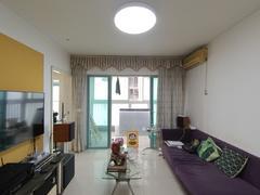 现代城华庭 2室2厅64.7m²整租租房效果图