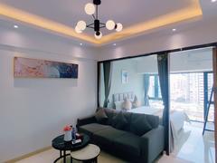前海枫叶大厦 心上好房 2室1厅46m²整租租房效果图