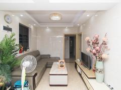 满京华喜悦里华庭 3室2厅1厨1卫60.91m²精致装修二手房效果图