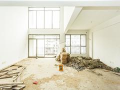 春华四季园 全新毛坯房顶楼大复式 满五年二手房效果图