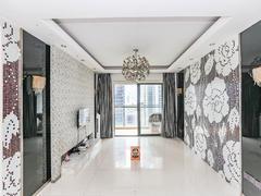 东方明珠城 三馆一城、万科里旁精装二房-家私家电齐全租房效果图