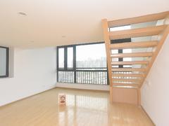 奥园峯荟 2室1厅1厨1卫 54.63m² 整租租房效果图