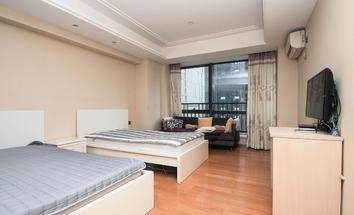 广州财富世纪广场卧室照片_财富世纪广场 精装一房一厅 自住办公皆可 等待优秀的你