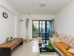 美丽湾国际公寓 1室2厅1厨1卫 42.82m² 整租出租房效果图