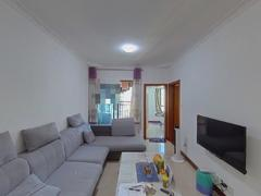 中珠上郡一期 2室1厅62m²普通装修二手房效果图