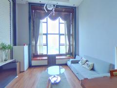 华发世纪城三期 1室2厅55m²整租租房效果图
