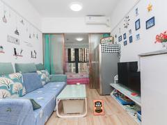 宏发嘉域 真实在租家私家电齐全2房拎包入住边位安静,适宜居住租房效果图