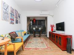 中珠上郡一期 豪华2室2厅1厨1卫 66.0m² 满五年二手房效果图