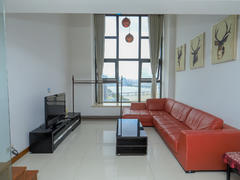 华发世纪城三期 1室2厅1厨2卫 51.64m² 整租租房效果图