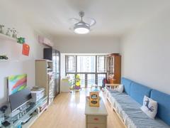 中海塞纳时光 2室2厅72.15m²整租租房效果图
