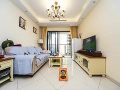 坤祥花语馨 3室2厅1厨2卫 88.49m² 精致装修二手房效果图