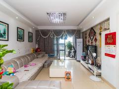 中海塞纳时光 3室2厅114.33m²整租租房效果图