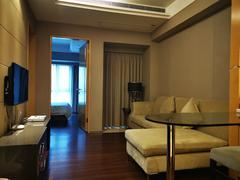 京基滨河时代广场 1室1厅43.35m²整租租房效果图