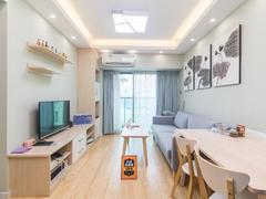 置地逸轩 1室2厅46.78m²整租租房效果图