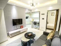 前海枫叶大厦 新出 2室1厅46.32m²整租租房效果图