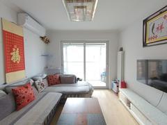 李沧万达广场公馆 2室2厅1厨1卫 85.92m² 精致装修二手房效果图