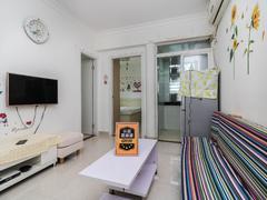 旭飞华达园一期 改两房,豪华装修, 2室1厅二手房效果图