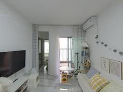 现代城华庭 2室1厅54.19m²整租租房效果图