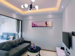 前海枫叶大厦 心上好房 2室1厅47m²整租租房效果图