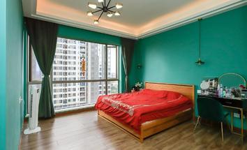 广州星晨时代豪庭卧室照片_星晨时代豪庭 13楼南向园景 装修保养好