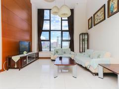 华发世纪城三期 1室2厅1厨2卫 55.0m² 整租租房效果图